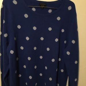 Talbots top pure cashmere
